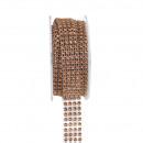 Strass band x4, breedte 20 mm lengte 4,5 m
